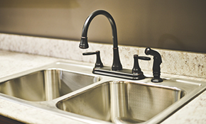 $190 New Kitchen Faucet Installation