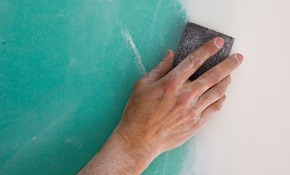 $350 for a Half Day of Ceiling, Wallplastering, or Drywall Repair