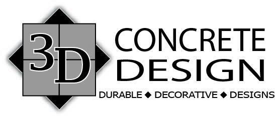 3D CONCRETE DESIGN logo