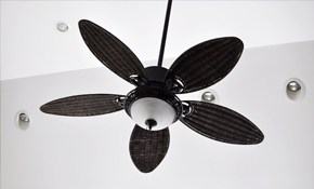 $151 for Ceiling Fan Install!