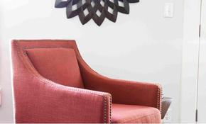$285 Custom Chair Slipcover