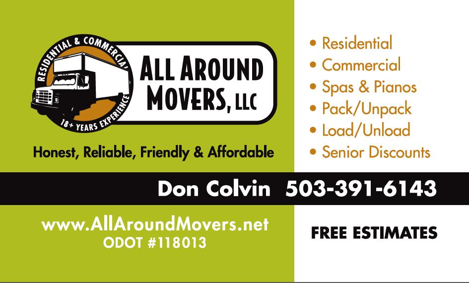 All Around Movers Inc.  logo