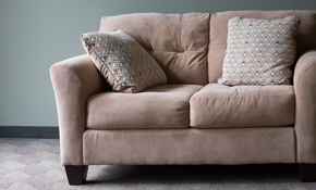 $625 for Re-Upholstery of Standard Love Seat with 2 Seat Cushions