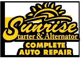 SUNRISE STARTER & ALTERNATOR logo