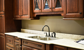 $325 for 6 Hours of Kitchen Cabinet Stain Touch-Up