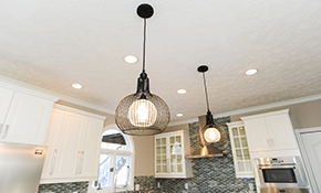 $650 for 4 New Recessed Lights with a Dimmer Switch Installation