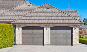 $2950 for a Clopay Double Coachman Garage Door Installation