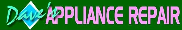 DAVE'S APPLIANCE REPAIR logo
