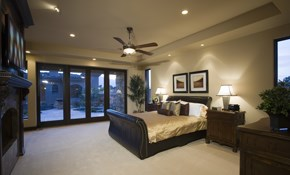 $643.50 for 4 New Recessed LED Lights with a Dimmer Switch Installed