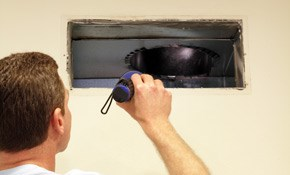 $390 Air Duct Cleaning for up to Ten Vents