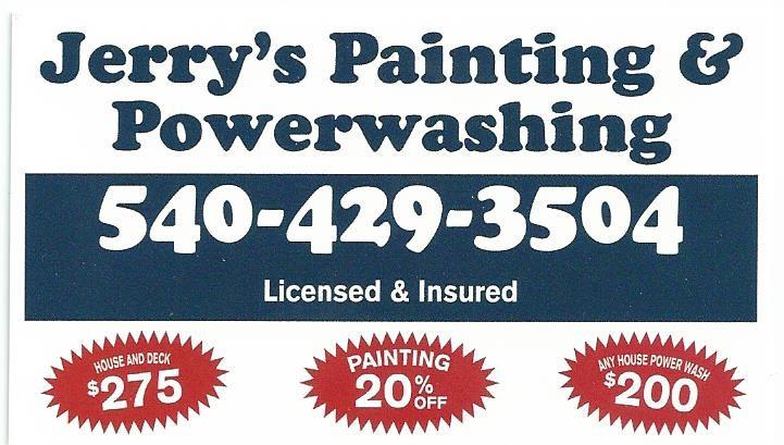 Jerrys Painting Amp Powerwashing Reviews Fredericksburg