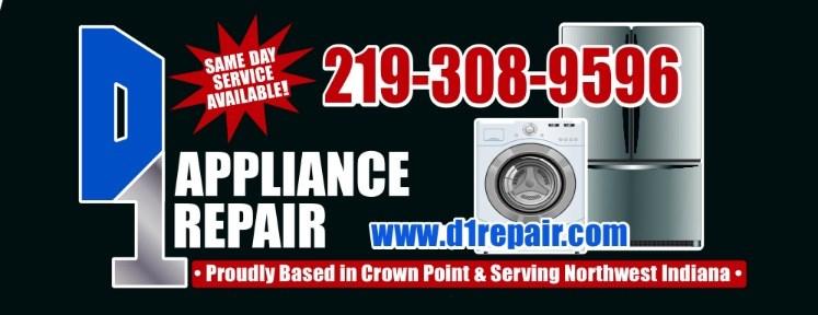 D 1 Appliance Repair logo