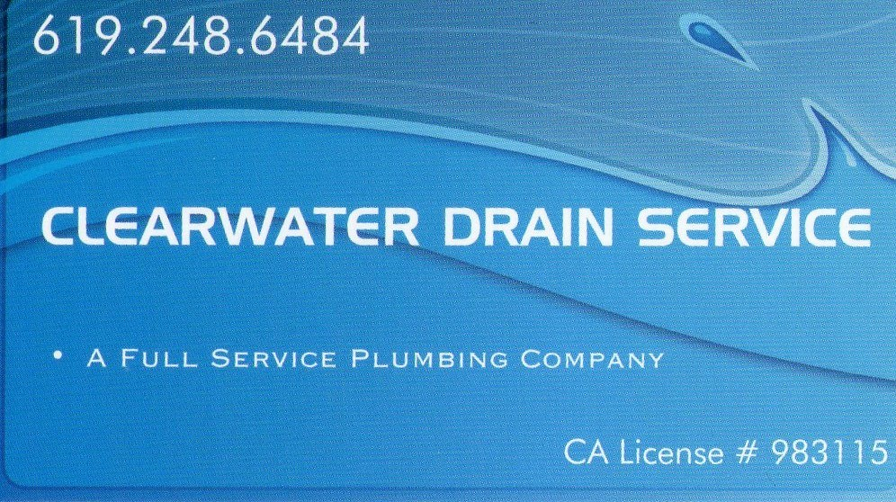 Clearwater Drain Service logo