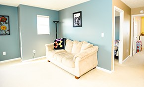 $350 for Two Rooms of Interior Painting