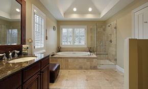 $199 for Professional Tile and Grout Steam Cleaning