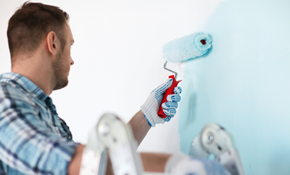 $825 for 2 Rooms of Interior Painting-- Includes up to 4 Gallons of Premium Paint