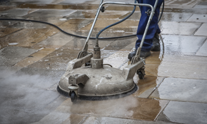 $550 for Cleaning and One Coat of Sealer on 1,000 Square Feet of Pavers