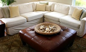 $189 for Upholstery Cleaning and 200 Sq Ft of Carpet Cleaning