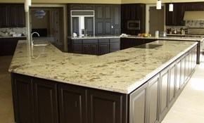 $2099 for 45 Square Feet of Custom Granite Countertops--Labor and Materials Included