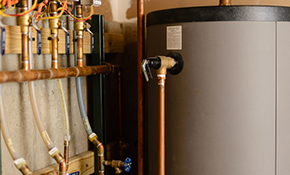 $100 for $200 Credit Toward a Water Heater Installation