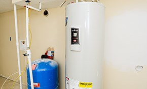 $720 for Installation of a 40-Gallon Electric Water Heater-Includes Warranty and Plumbing Inspection