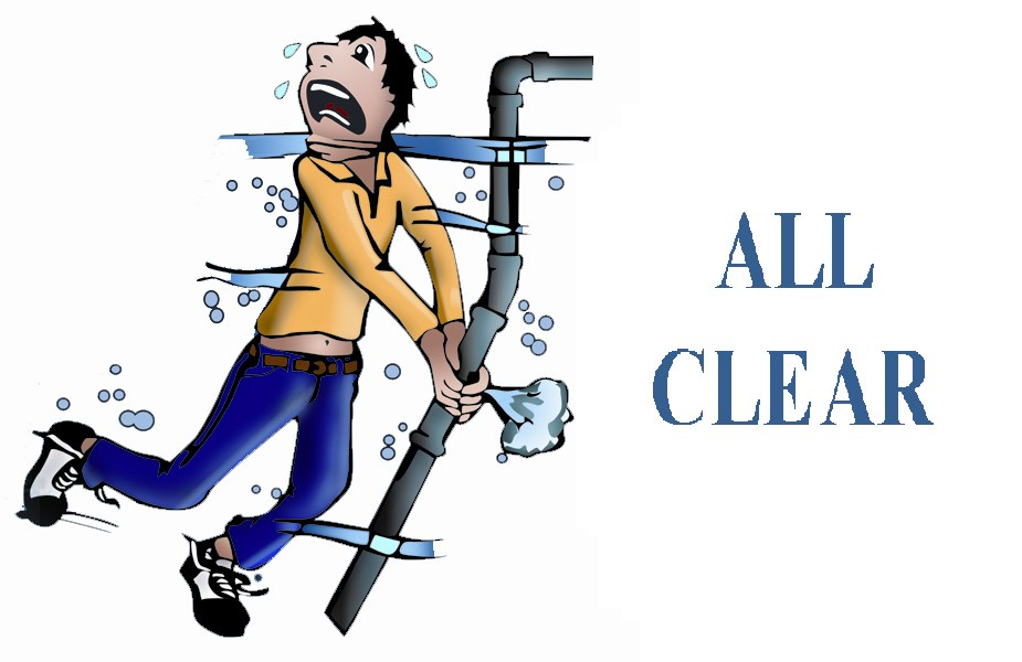 ALL CLEAR Plumbing, Drains, Heating & AC of Mercer logo