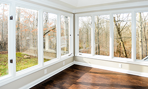 $1,895 Installation of Five Energy Star Windows