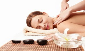 $115 for a 90 Minute Raindrop and Hot Stone Massage