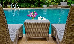 $2,520 for Annual Pool Service Agreement Including All Chemicals, Cleanings, Opening and Closing
