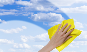 $55 for Home Window Cleaning for 10 Windows, Includes Screen Cleaning