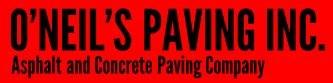 O'NEIL'S PAVING INC logo