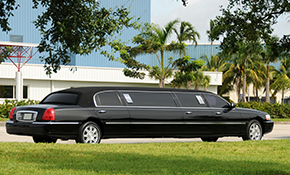 $293.25 for 3 Hours of Chauffeured Stretch Limousine Services for Up to Eight