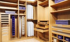 $750 for $850 Worth of Custom Closets