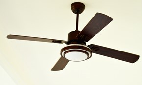$225 for a Complete Ceiling Fan Installation In a New Location