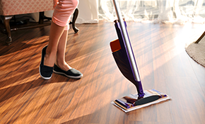 $120 for 4 Hours of Detailed Housecleaning