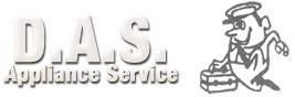 D.A.S. Appliance Service logo