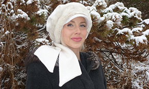 $105 for White Wool Hat