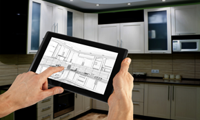 $125 for a Kitchen or Bathroom Design Consultation with 3-D Renderings