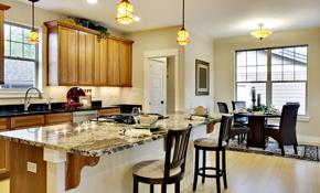 $95 for Kitchen Cabinet Installation
