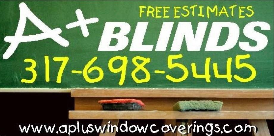 A+ Blinds Shades Shutters logo