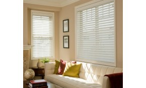 $297 for 3 sets of Faux Wood Blinds!