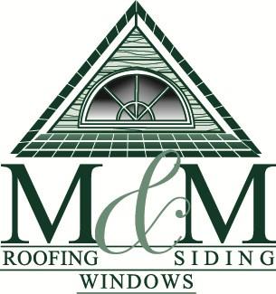 M&M Roofing, Siding & Windows logo