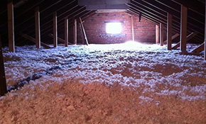 $1,068 for 1,200 Square Feet of R38 Attic Insulation