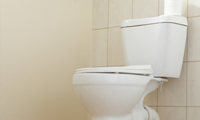 $220 for a New Toilet Installation (Supplied & Installed)