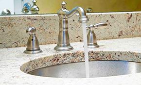 $171 for Bathroom Faucet Installation