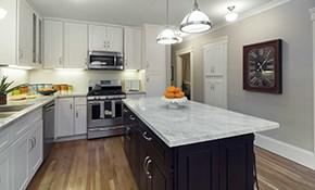 $900 for $1,000 Credit Toward Granite or Quartz Countertops