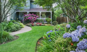$1,500 for Seven Crew Hours of Landscaping and a One-Hour Landscape Design Consultation