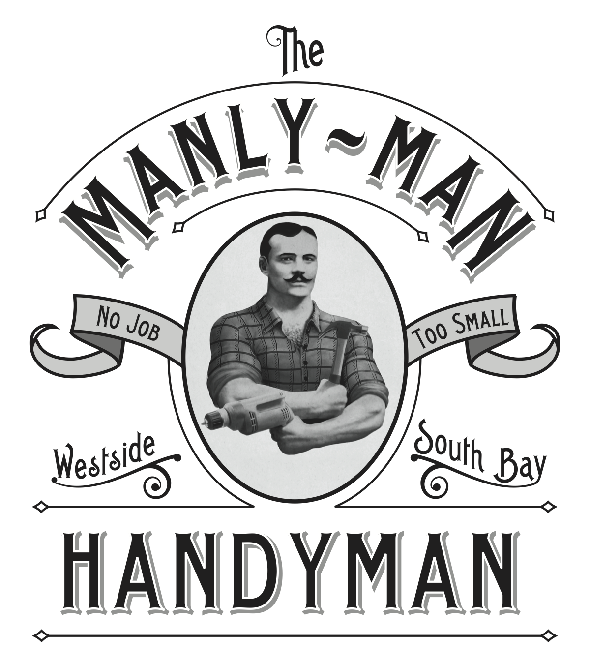 The Manly Man Handyman logo