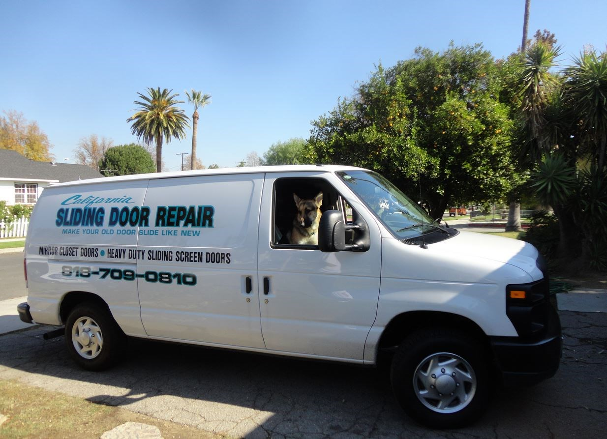 California Sliding Door Parts and Repair Services logo