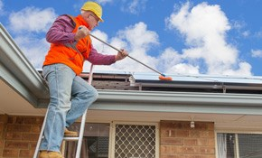 $265 for a Shingle Roof Cleaning